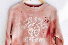Urban Outfitter's new sweater is reminiscent of the Kent State University Massacre. Photo Credit: Urban Outfitters Website