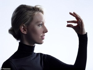 Elizabeth Holmes, CEO and founder of Theranos, is America's youngest self-made billionaire.  PHOTOCREDIT: DailyMail