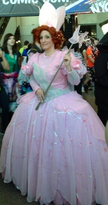 Glenda the Good Witch (from the Wizard of Oz)
