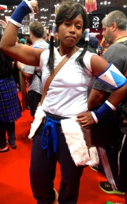 Korra (from the Legend of Korra)