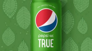 Pepsi's new Pepsi True has only 60 calories and is only sold on Amazon.  Photo Credit: PepsiCo Beverage