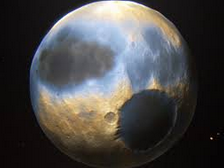 The debate over Pluto's status as a planet has reignited.  Photo Credit: dailygalaxy