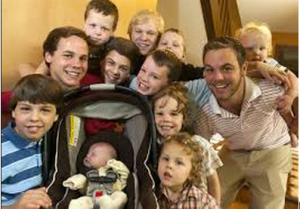 With 12 boys in the house, the Schwandts wonder whether the 13th will be a girl.  Photo Credit: mlive.com
