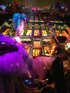 The Cinderella window display at Saks Fifth Avenue Photo Credit: Victoria Lubas