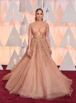 JLO @ 2015 Oscars: DailyMail