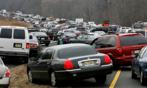 Icy roads have resulted in fatal car crashes this winter, including a 48-car pile up on the New Jersey Turnpike. Photo Credit: The Star Ledger