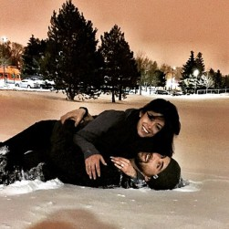 Engagement Photo: Phelp's Instagram