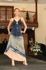 Senior Nicole Latarulo strikes a pose on the runway.  Photo Credit: Mrs. Proscia & the Photography Club