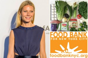Gwyneth Paltrow is helping raise awareness by accepting the Food Stamp Challenge. Photo Credit: The Wrap