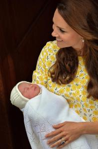 Charlotte Elizabeth Diana was welcomed into the world on Saturday, May 2nd. She will be referred to as Your Royal Highness Dutchess of Cambridge.  Photo Credit: NBC News