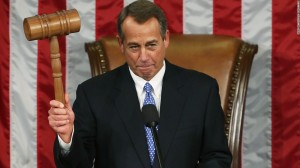 Speaker of the House, John Boehner, is resigning. Photo Credit: CNN