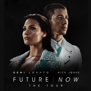 The poster for Future Now, Demi Lovato and Nick Jonas's joint tour. Photo Credit: Altitude Tickets