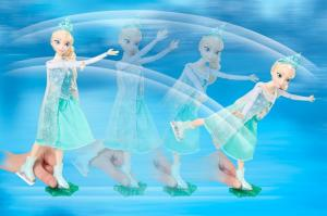 The Skate and Sing Elsa from IMC Toys. Photo Credit: Bewildered Dad