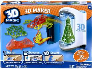 The 3D Magic-3D Maker was expected to be a big hit last Christmas. Photo Credit: Inter Toys