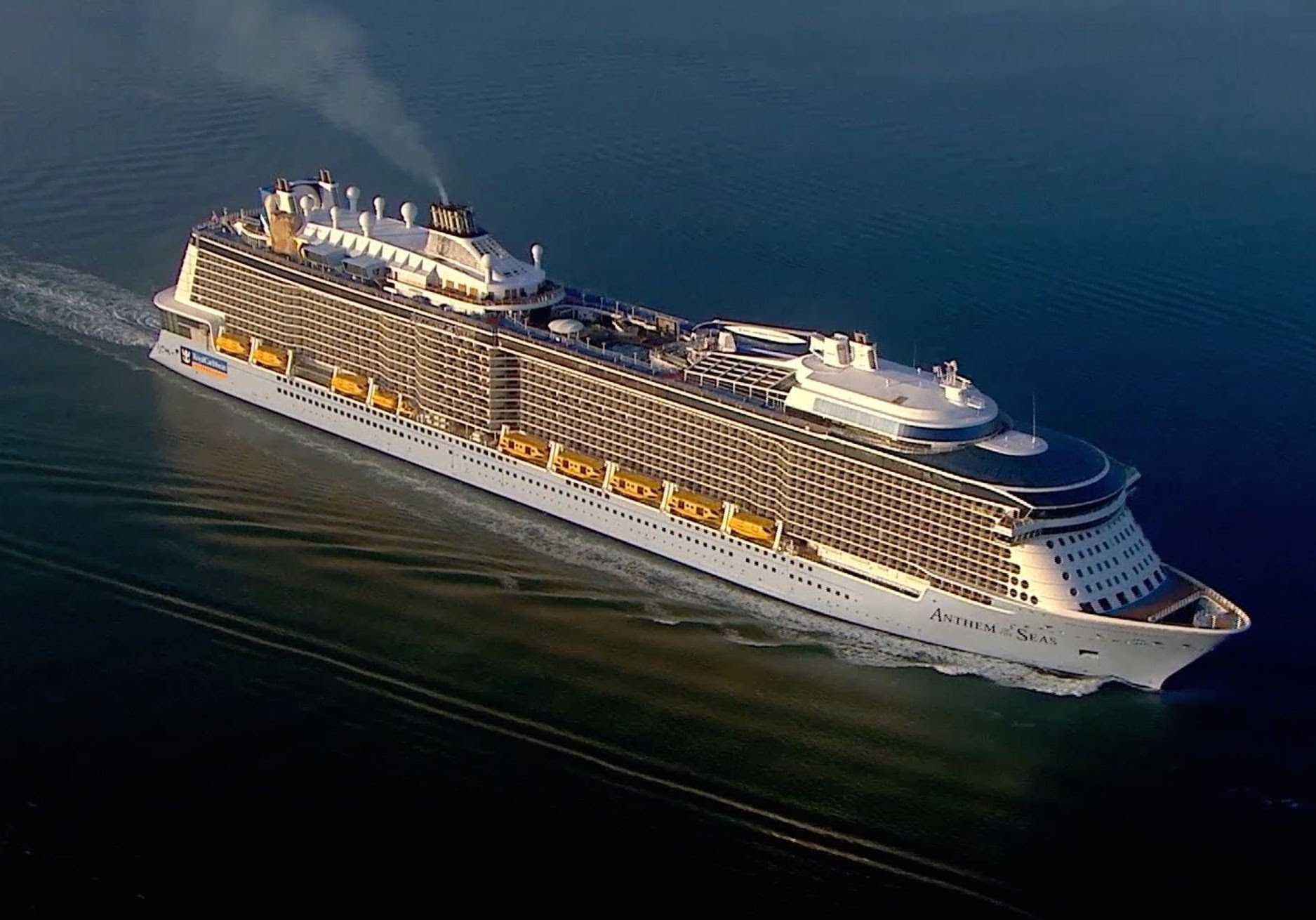 Royal Caribbean Cruise Ship Caught In Storm
