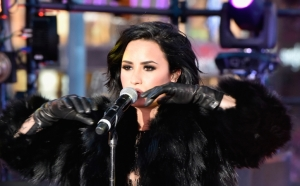 Demi Lovato performing at Times Square on New Year's Eve. Photo Credit: Music Times