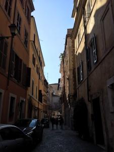 A road in Trastevere. Photo Credit: Julia Nasiek '16