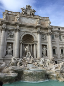 The Trevi Fountain. Photo Credit: Julia Nasiek '16