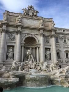 The Trevi Fountain. Photo Credit: Julia Nasiek '16