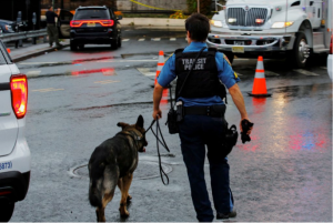 Police feel the need to step up security after recent attacks. Photo courtesy of PBS