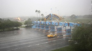 Disney World closed its park on Friday, October 8th due to Hurricane Matthew. Photo courtesy of CNN Money