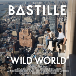"Bastille's ""Wild World"" album from on top of the world! Photo courtesy of Rolling Stone Magazine"