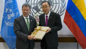 The Nobel Peace Prize was awarded to the president of Columbia, Juan Manuel Santos. Photo courtesy of Inquisitr