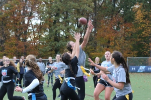 The juniors and sophomores face off for the trophy. Photo courtesy of Lisa Ferioli'18