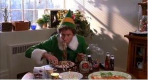 Elf is one of everyone's favorite Christmas movies! Photo courtesy of The Daily Owl