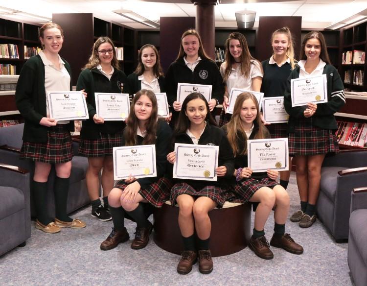 The Soaring Eagle Award recipients. Photo courtesy of Patrizia Proscia