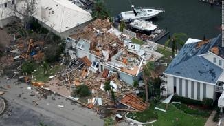 Hurricane Harvey leaves devastation in its wake. Photo courtesy of CNN